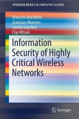 Omslag - Information Security of Highly Critical Wireless Networks 2017