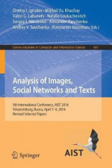 Omslag - Analysis of Images, Social Networks and Texts 2017