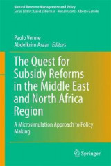 Omslag - The Quest for Subsidy Reforms in the Middle East and North Africa Region 2017