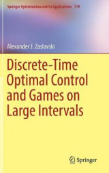 Omslag - Discrete-Time Optimal Control and Games on Large Intervals 2017