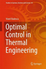 Omslag - Optimal Control in Thermal Engineering
