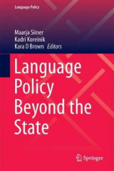 Omslag - Language Policy Beyond the State