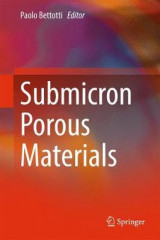 Omslag - Submicron Porous Materials