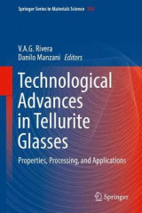 Omslag - Technological Advances in Tellurite Glasses