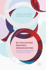 Omslag - Re-Evaluating Regional Organizations