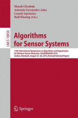Omslag - Algorithms for Sensor Systems