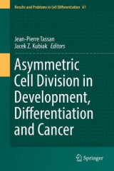 Omslag - Asymmetric Cell Division in Development, Differentiation and Cancer