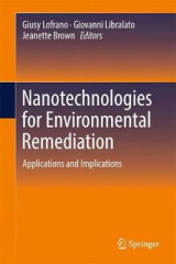 Omslag - Nanotechnologies for Environmental Remediation