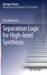 Omslag - Separation Logic for High-Level Synthesis