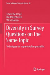 Omslag - Diversity in Survey Questions on the Same Topic