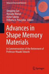 Omslag - Advances in Shape Memory Materials