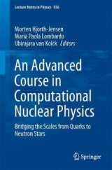 Omslag - An Advanced Course in Computational Nuclear Physics