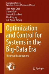 Omslag - Optimization and Control for Systems in the Big-Data Era
