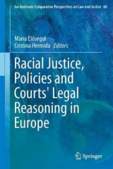 Omslag - Racial Justice, Policies and Courts' Legal Reasoning in Europe
