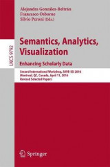 Omslag - Semantic, Analytics, Visualization. Enhancing Scholarly Data