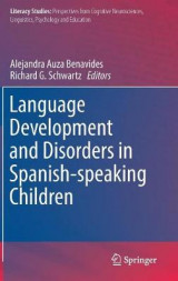 Omslag - Language Development and Disorders in Spanish-speaking Children