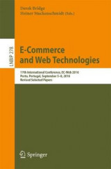 Omslag - E-Commerce and Web Technologies