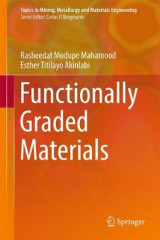 Omslag - Functionally Graded Materials