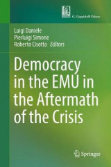 Omslag - Democracy in the EMU in the Aftermath of the Crisis 2017