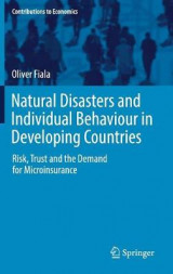 Omslag - Natural Disasters and Individual Behaviour in Developing Countries