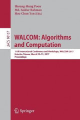 Omslag - Walcom: Algorithms and Computation