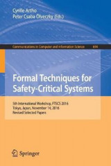 Omslag - Formal Techniques for Safety-Critical Systems