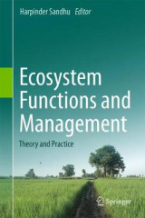 Omslag - Ecosystem Functions and Management