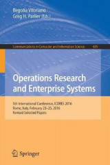 Omslag - Operations Research and Enterprise Systems