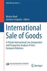 Omslag - International Sale of Goods