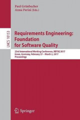 Omslag - Requirements Engineering: Foundation for Software Quality 2017