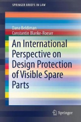 Omslag - An International Perspective on Design Protection of Visible Spare Parts 2017