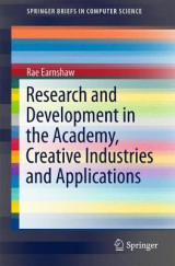 Omslag - Research and Development in the Academy, Creative Industries and Applications