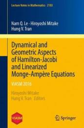 Dynamical and Geometric Aspects of Hamilton-Jacobi and Linearized Monge-Ampere Equations av Nam Le, Hiroyoshi Mitake og Hung V. Tran (Heftet)