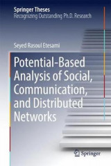 Omslag - Potential-Based Analysis of Social, Communication, and Distributed Networks 2017