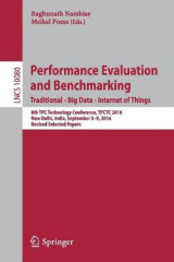 Omslag - Performance Evaluation and Benchmarking. Traditional - Big Data - Interest of Things 2017