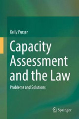 Omslag - Capacity Assessment and the Law 2017