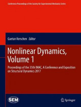 Omslag - Nonlinear Dynamics 2017: Volume 1