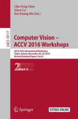 Omslag - Computer Vision - ACCV 2016 Workshops 2017: Part II