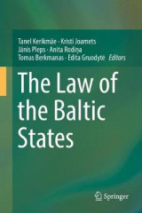 Omslag - The Law of the Baltic States 2017