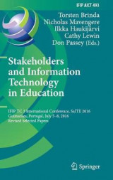 Omslag - Stakeholders and Information Technology in Education