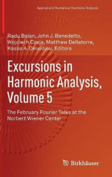 Omslag - Excursions in Harmonic Analysis 2017: Volume 5