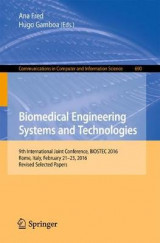 Omslag - Biomedical Engineering Systems and Technologies 2017
