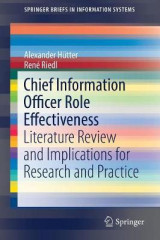Omslag - Chief Information Officer Role Effectiveness 2017
