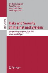Omslag - Risks and Security of Internet and Systems