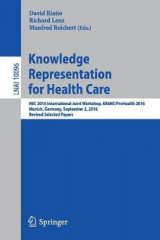 Omslag - Knowledge Representation for Health Care
