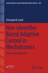 Omslag - Non-Identifier Based Adaptive Control in Mechatronics 2017