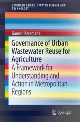Omslag - Governance of Urban Wastewater Reuse for Agriculture 2017