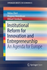 Omslag - Institutional Reform for Innovation and Entrepreneurship 2017