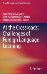 Omslag - At the Crossroads: Challenges of Foreign Language Learning 2017