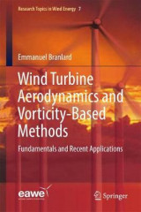 Omslag - Wind Turbine Aerodynamics and Vorticity-Based Methods 2017